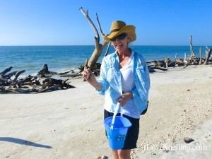 sarah shelling cayo costa florida