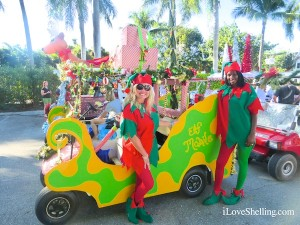 south seas resort elf mobile parade captiva