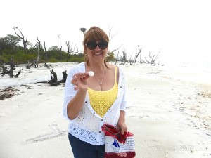 donna oklahoma finding shells cayo costa florida