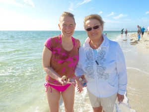 kathy karen wisconsin finding seashells on sanibel
