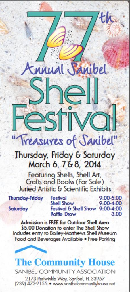 sanibel shell festival 2014