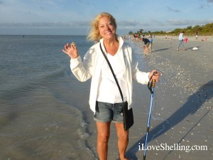 Andrea from Fort Lauderdale found lace murex Sanibel