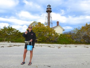 constance marshall miller shelling sanibel lighthouse