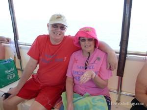 dee louie illinios on cruise to cayo costa
