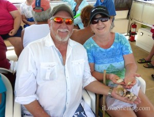 lee renie houston on cruise to cayo costa