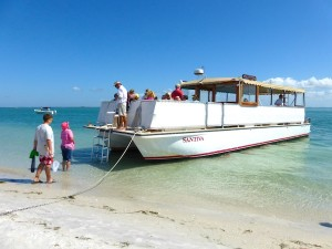 santiva cruise boat from captiva to cayo costa