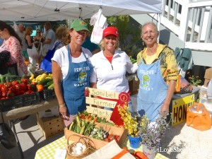 Sanibel Farmers Market with owners Betsy Jean Sherrill