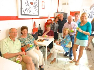 Sanibel Zebra Frozen Yogurt