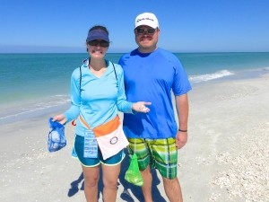 amy jeff from fort myers find shells on pam rambo cruise