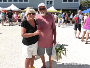 shellers mary and jim from wisconsin sanibel farmers market