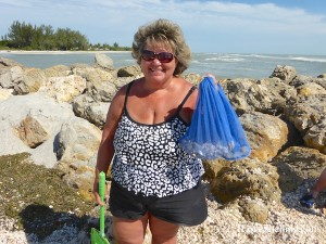 judy from va visits sw florida to find seashells