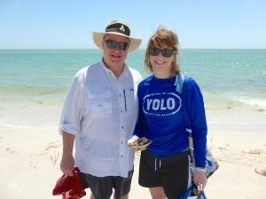 mark sue north carolina visit sanibel for shells