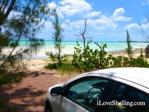 rented car on grand bahama island