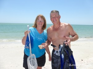 shellers snorkel in south west florida