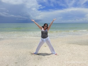Happy to be on Sanibel Island
