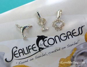 Sanibel sterling silver charms Sealife by Congress