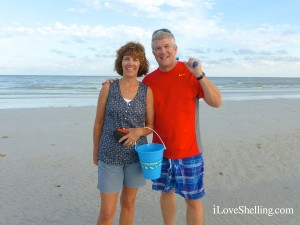 Susan and Lee from GTMO visit Sanibel Island Florida