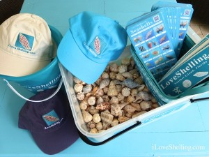 i Love Shelling giveaway prizes