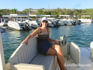 Boating with Susan Merrill in Gtmo