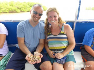Dima and Amy MI find shell on west coast of Florida