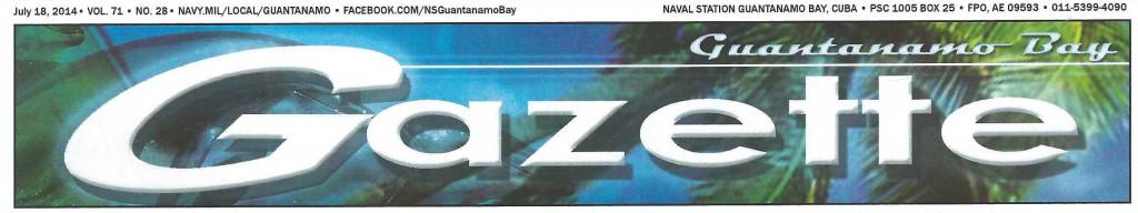 GTMO Gazette newspaper Pam Rambo