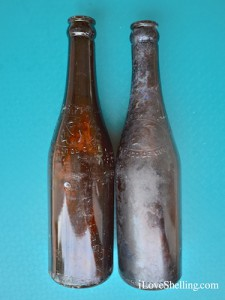 Hatuey Beer bottles Cuba circa 1948 found in Gtmo