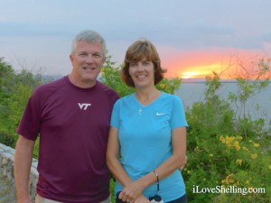 Lee and Susan Merrill Guantanamo Bay sunset