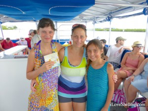 Mackenzie Tammi Peyton win jewelry on shelling cruise