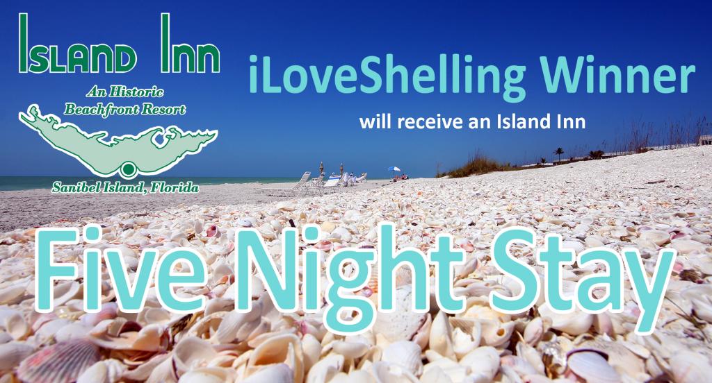 5 Year Shellaversary GiveAway – 5 Nights at Island Inn Sanibel