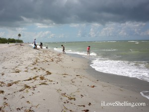 Blind Pass Beach Sanibel Island in August