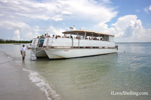 Captiva Cruises Playtime shelling boat