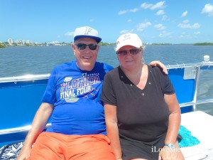 Tom and Nancy Fort Myers shelling cruise