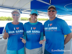 i love Pam Rambo tee shirts joe and Joanne