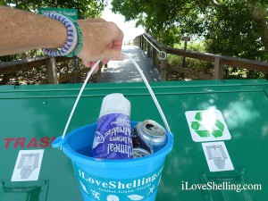 please keep Sanibel litter free