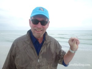 Clark finding Sanibel shells