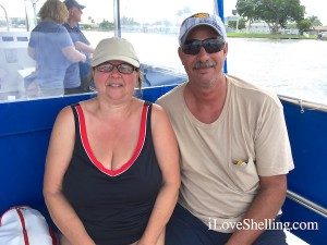 Mariann Bruce Ohio on iLoveShelling shell cruise