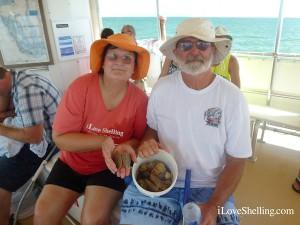 Susan Jerry Panama City visit Sanibel for shells