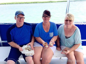 Anthony Sonya (VA) Sue  (Alaska) on Big Hickory shelling cruise