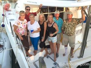 Rambo with Talisman V crew Bahamas