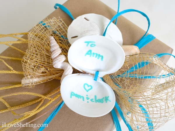 How To Use Seashells For Gift Tags