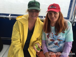 donna mary on shelling cruise