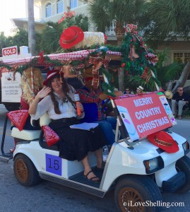 Captiva Country Christmas Golf Cart Parade Beggs Realty