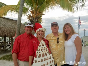 Clark Pam Louis Nancy Captiva Christmas