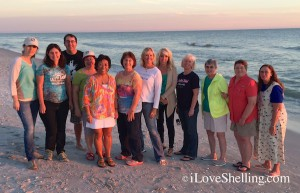 Shellabaloo 6 Sanibel guided shelling tour 2015