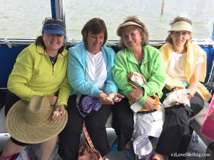 Amy Donna Rene Susan from VA shelling trip with iLS