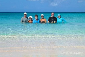 Happiness in the BVI aqua water