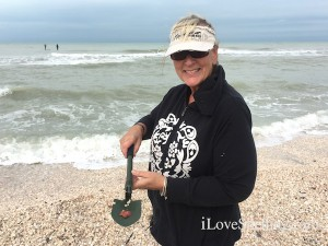 Babs St Augustine visits Captiva shells
