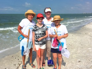 Ellen, Melissa, Paige and Gail OR beach comb Florida