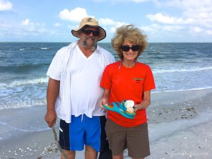 Linda Jay Cape Coral found sand dollars angel wings