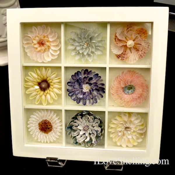 seashell flower box
